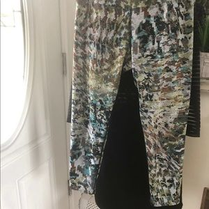 Hard Tail Pants - HARDTAIL HIGH WAIST CAPRI $90 Size Med Worn 1x